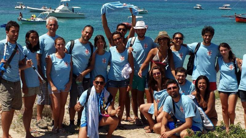Volontariato al mare